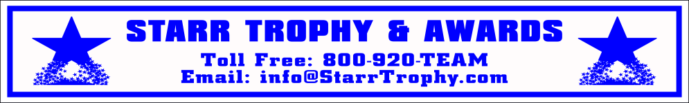 Starr Trophy & Awards - acrylic awards, crystal awards, cup trophies, perpetual plaques, baseball trophies, football trophies, soccer trophies, corporate plaques, recognition plaques, glass awards, gifts, clocks, corporate awards, london, oh, ohio
